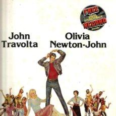 Cine: GREASE ( REVISTA + FLEXI RECORD ) JOHN TRAVOLTA & OLIVIA NEWTON-JOHN. Lote 57263045