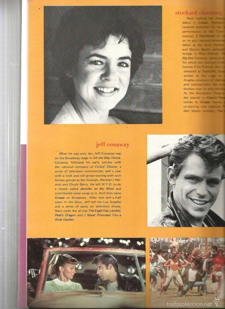 Cine: GREASE ( REVISTA + FLEXI RECORD ) JOHN TRAVOLTA & OLIVIA NEWTON-JOHN - Foto 5 - 57263045