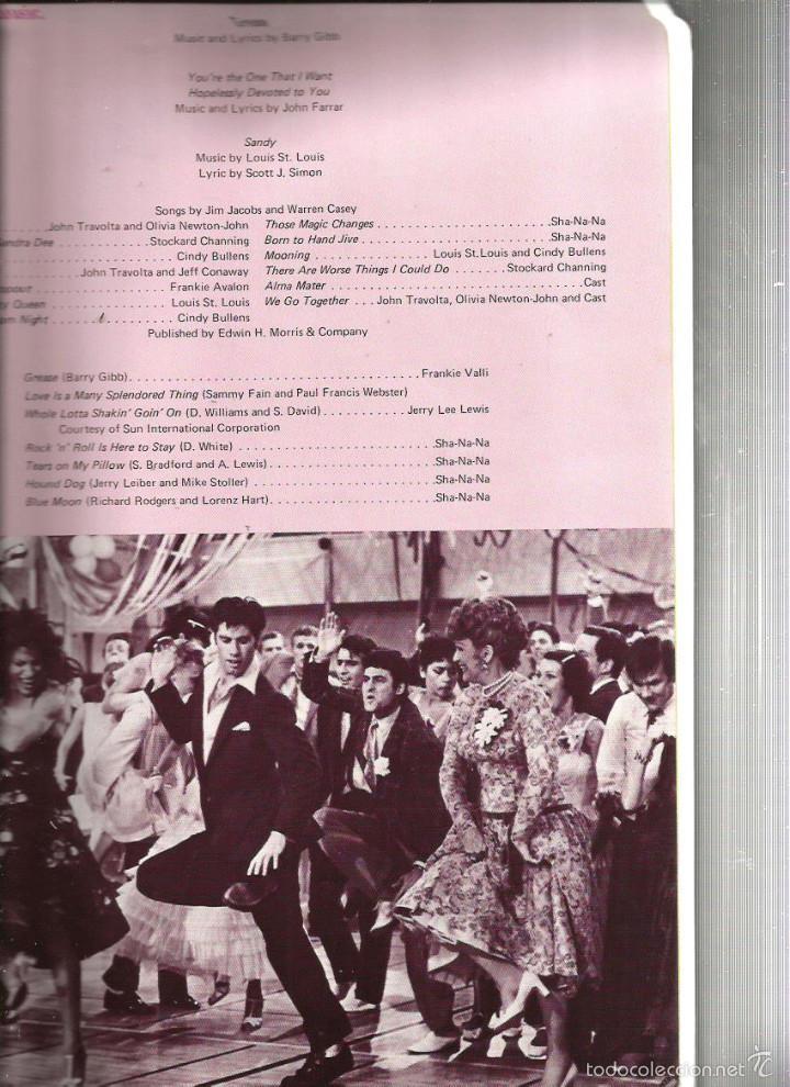Cine: GREASE ( REVISTA + FLEXI RECORD ) JOHN TRAVOLTA & OLIVIA NEWTON-JOHN - Foto 6 - 57263045