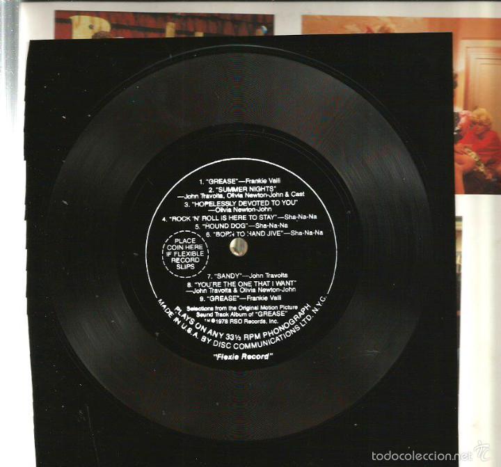 Cine: GREASE ( REVISTA + FLEXI RECORD ) JOHN TRAVOLTA & OLIVIA NEWTON-JOHN - Foto 7 - 57263045