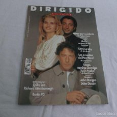 Cine: DIRIGIDO POR... Nº 211. HEROE POR ACCIDENTE. SPIKE LEE. RICHARD ATTENBOROUGH. BERLIN 93. JULES DASSI. Lote 227484655