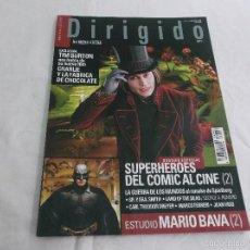 Cinema: EXTRA DIRIGIDO POR... Nº 347: ESPECIAL SUPERHEROES DEL COMIC DEL CINE (2). MARIO BRAVA. TIM BURTON. Lote 57308154