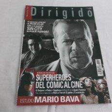 Cinema: DIRIGIDO POR... Nº 346: ESPECIAL SUPERHEROES DEL COMIC DEL CINE. MARIO BRAVA. FRANK MILLER, SIN CITY. Lote 254267355
