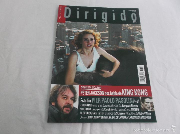 DIRIGIDO POR... Nº 351: PETER JACKSON HABLA DE KING KONG. PIER PAOLO PASOLINI (Y 2). TIBURON, SIBERI (Cine - Revistas - Dirigido por)