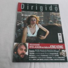 Cine: DIRIGIDO POR... Nº 351: PETER JACKSON HABLA DE KING KONG. PIER PAOLO PASOLINI (Y 2). TIBURON, SIBERI. Lote 218571027