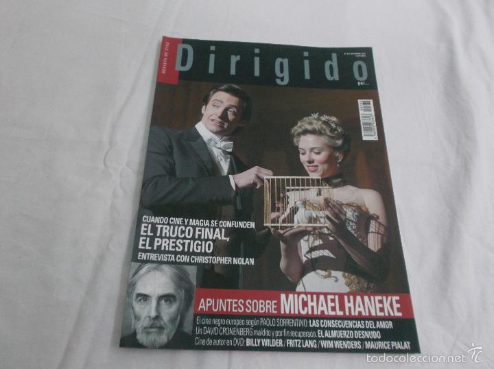 DIRIGIDO POR... Nº 362: MICHAEL HANEKE. EL TRUCO FINAL, EL PRESTIGIO. EL ALMUERZO DESNUDO. MAURICE P (Cine - Revistas - Dirigido por)