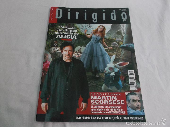 DIRIGIDO POR... Nº 398: TIM BURTON HABLA DE ALICIA. MARTIN SCORSESE (2). EL LIBRO DE ELI. ALLEN HUGH (Cine - Revistas - Dirigido por)