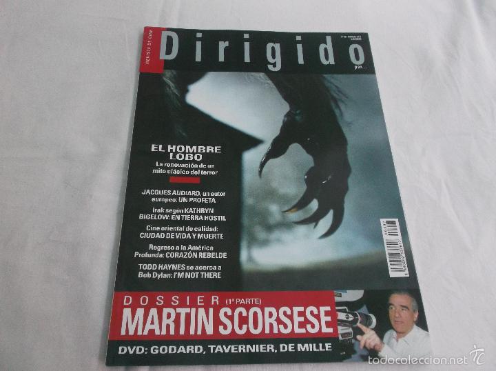 DIRIGIDO POR... Nº 397: MARTIN SCORSESE (1). EL HOMBRE LOBO. JACQUES AUDIARD. EN TIERRA HOSTIL. (Cine - Revistas - Dirigido por)