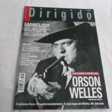 Cinéma: DIRIGIDO POR... Nº 401: ESPECIAL ORSON WELLES. CANNES 2010. SPLICE. ENTRE NOSOTROS. THE COVE. Lote 221268908