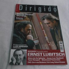Cinéma: DIRIGIDO POR... Nº 406: ERNST LUBITSCH (2). LUIS MIÑARRO. IÑARRITU/ BARDEM, BIUTIFUL. ALEX DE LA IGL. Lote 221268467