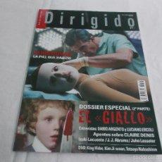 Cinéma: DIRIGIDO POR... Nº 413: ALMODOVAR, LA PIEL QUE HABITO. EL GIALLO (2). DARIO ARGENTO Y LUCIANO ERCOLI. Lote 221269125