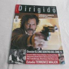 Cine: DIRIGIDO POR... Nº 414: ENRIQUE URBIZU, NO HABRA PAZ PARA LOS MALVADOS. EL CINE DENTRO DEL CINE. TER. Lote 179219835