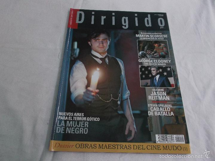DIRIGIDO POR... Nº 419: TERROR GÓTICO, LA MUJER DE NEGRO. CABALLO DE BATALLA. JASON REITMAN. SCORSES (Cine - Revistas - Dirigido por)