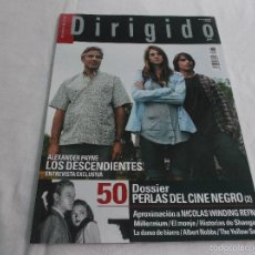 Cine: DIRIGIDO POR... Nº 418: 50 PERLAS DEL CINE NEGRO (2). LOS DESCENDIENTES. NICOLAS WINDING REFN. MILLE. Lote 218570553