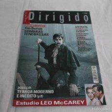 Cine: DIRIGIDO POR... Nº 422: TIM BURTON, SOMBRAS TENEBROSAS. TERROR MODERNO E INEDITO (Y 2). LEO MCCAREY. Lote 179219977