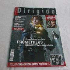 DIRIGIDO POR... Nº 424: PROMETHEUS . CINE PROPAGANDA POLITICA (2. CHRISTOPHER NOLAN. JUEGO DE TRONOS
