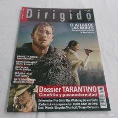Cinéma: DIRIGIDO POR... Nº 430: TARANTINO, CINEFILIA Y POSMODERNIDAD, GANSTER SQUAD. HITCHCOCK. SIETE PSICOP. Lote 221266586