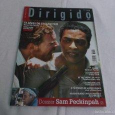 Cinéma: DIRIGIDO POR... Nº 439. 12 AÑOS DE ESCLAVITUD. SAM PECKINPH (2). MUCHO RUIDO Y POCAS NUECES. CARRIE.. Lote 221266707
