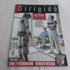 Cine: DIRIGIDO POR... Nº 440: EL LOBO DE WALL STREET. CINE Y TERRORISMO. WERNER HERZOG. NYMPHOMNIAC.. Lote 194680743