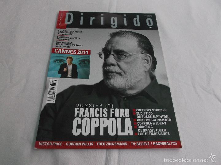 DIRIGIDO POR... Nº 445: FRANCIS FORD COPPOLA (2). CANNES 2014. SOLO LOS AMANTES SOBREVIVEN. DRACULA. (Cine - Revistas - Dirigido por)