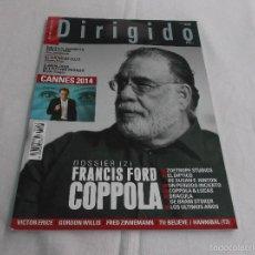 Cinéma: DIRIGIDO POR... Nº 445: FRANCIS FORD COPPOLA (2). CANNES 2014. SOLO LOS AMANTES SOBREVIVEN. DRACULA.. Lote 221269211