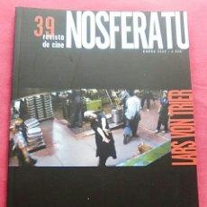 Cine: REVISA DE CINE NOSFERATU N. 39, LARS VON TRIER. Lote 57510361