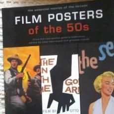 Cine: LIBRO POSTERS DE PELICULAS AÑOS 50-FILM POSTERS OF THE 50S. Lote 57701291