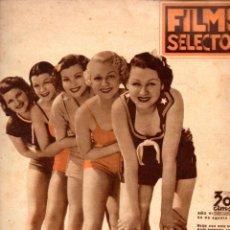 Cine: FILMS SELECTOS Nº 253 - AGOSTO 1935. Lote 57768506
