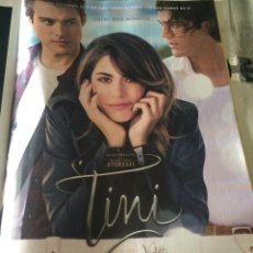 Cine: 'TINI - EL GRAN CAMBIO DE VIOLETTA'. PUBLICIDAD EN PRENSA. NUEVO.. Lote 57809569