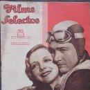 Cine: FILMS SELECTOS 145. 1933. RUBY KEELER, VICTOR JORY, BUCK JONES, MAUREEN O´SULLIVAN, RICHARD ARLEN.... Lote 154234874