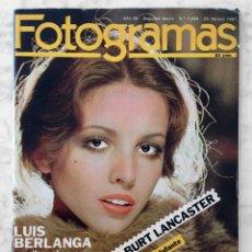 Cine: FOTOGRAMAS - Nº 1646 - 1981 - ANA BELEN, MERCEDES SAMPIETRO, BIGAS LUNA, MONTY PYTHON, GEORGE RAFT. Lote 57816459