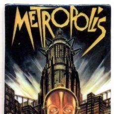 Cine: IMAN PORCELANA NEVERA - CINE: METROPOLIS. Lote 77215519