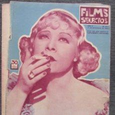 Cine: FILMS SELECTOS 213. 1934. MAE WEST, MARIE DRESSLER, RAQUEL RODRIGO, GRACE BRADLEY, ANNABELLA.... Lote 57825889