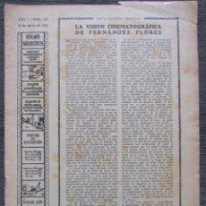 Cine: FILMS SELECTOS 180. 1934. GRACE BRADLEY, MAE WEST, PATRICIA ELLIS, JEANETTE MAC DONALD.. Lote 57831453
