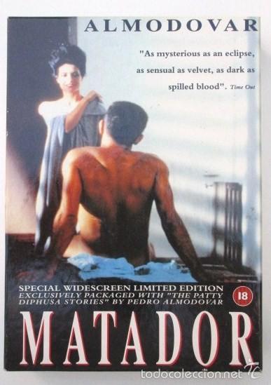 Cine: PEDRO ALMODÓVAR, AUTÉNTICA RAREZA, VHS EDICIÓN INGLESA, LIMITADA Y NUMERADA. MATADOR Y PATTY DIPHUSA - Foto 2 - 57855521