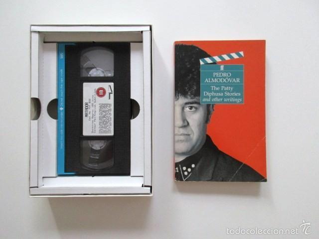 Cine: PEDRO ALMODÓVAR, AUTÉNTICA RAREZA, VHS EDICIÓN INGLESA, LIMITADA Y NUMERADA. MATADOR Y PATTY DIPHUSA - Foto 4 - 57855521