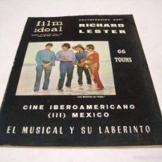 Cinema: REVISTA FILM IDEAL; MAYO DE 1966, CONVERSACIONES CON RICHARD LESTER. Lote 57919832