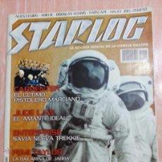 Cine: STARLOG. REVISTA OFICIAL DE LA CIENCIA FICCIÓN - NUMERO 1 - ENERO 2002 - EDICIÓN ESPAÑOLA - DIFICIL. Lote 52469572