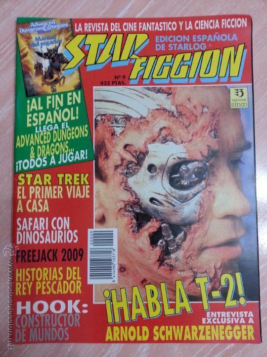 REVISTA STAR FICCIÓN - NÚMERO 9 - ABRIL 1992 - EDICIONES ZINCO (Cine - Revistas - Star Ficcion)