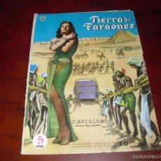 Cinema: TIERRA DE FARAONES JACK HAWKINS JOAN COLLINS. Lote 58113968