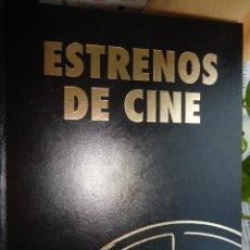 Cine: LIBRO ESTRENOS DE CINE. VOLUMEN 2 VER TODOS LOS ACTORES Y PELÍCULAS.. Lote 58170322