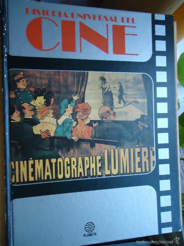 LIBRO HISTORIA UNIVERSAL DEL CINE VOLUMEN. 1- CON CIENTOS DE FOTOS VER DATOS. (Cine - Revistas - Otros)