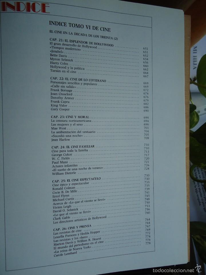 Cine: LIBRO HISTORIA UNIVERSAL DEL CINE, VOLUMEN, 6, VER DATOS. - Foto 2 - 58179403