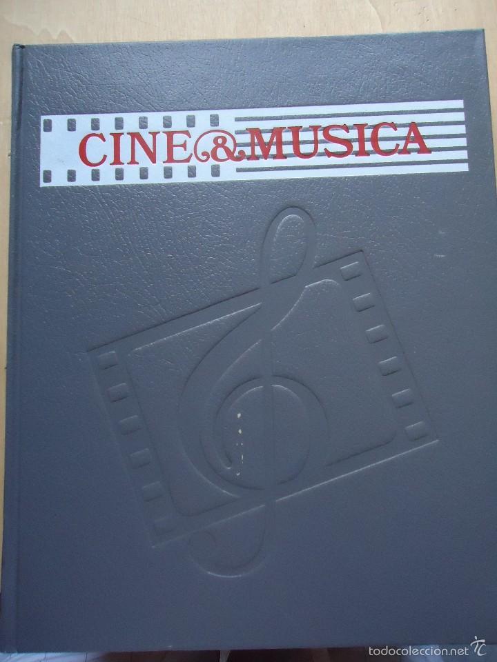 LIBRO CINE Y MÚSICA. VOLUMEN 1. PELÍCULAS MÍTICAS Y MUSICALES. VER DATOS. (Cine - Revistas - Otros)