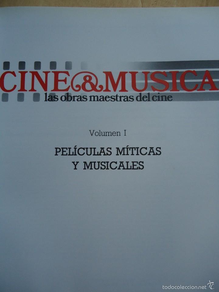 Cine: LIBRO CINE Y MÚSICA. VOLUMEN 1. PELÍCULAS MÍTICAS Y MUSICALES. VER DATOS. - Foto 2 - 58181986