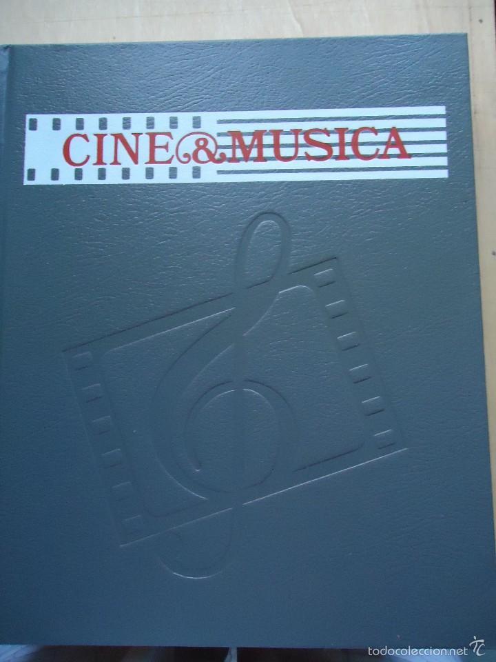 LIBRO CINE Y MÚSICA. VOLUMEN 3. CON NUMEROSAS FOTOS Y GUÍA DEL OYENTE.VER DATOS. (Cine - Revistas - Otros)