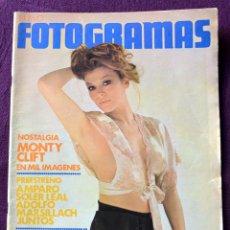 Cine: FOTOGRAMAS Nº 1270 - FEBRERO 1973 - MIRTA MILLER - M. CLIFT - ELVIS PRESLEY. Lote 58255597
