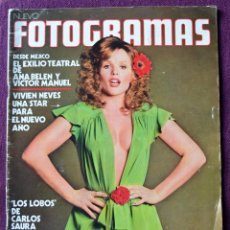 Cine: FOTOGRAMAS Nº 1264 - ENERO 1973 - ANA BELEN Y VICTOR MANUEL. Lote 58255740