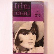 Cine: REVISTA FILM IDEAL. Nº 216. ARTE Y ENSAYO 19 -69. 219 PÁGINAS ILUSTRADA.. Lote 58296873