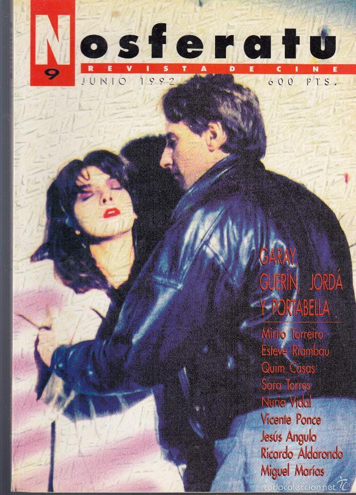 NOSFERATU. REVISTA DE CINE. NÚMERO 9 (JUNIO 1992). BUENA CONSERVACIÓN. (Cine - Revistas - Otros)